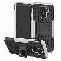Чехол Armor Case для Samsung A605 Galaxy A6 Plus 2018 White