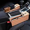 Автомобильный органайзер кожаный Brittiey Коричневый ( 26х15х7 см ) + Подарок, фото 7
