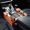 Автомобильный органайзер кожаный Brittiey Коричневый ( 26х15х7 см ) + Подарок, фото 6