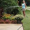 Поливочный шланг Икс-хоз 60 метров с распылителем Magic Hose / Растягивающийся садовый шланг, фото 5