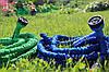 Поливочный шланг Икс-хоз 60 метров с распылителем Magic Hose / Растягивающийся садовый шланг, фото 10