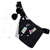 Мужская сумка мессенджер Cross Body 30х22х15 Черная, фото 3