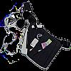 Мужская сумка + Подарок / Мессенджер Cross Body 30х22х15 Черная, фото 4