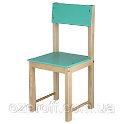 Детский стульчик деревянный ИГРУША 64 см Салатовый