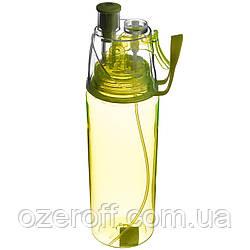 Спортивная бутылка A-PLUS 600 мл (PB-600) Салатовая
