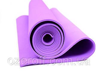 Мат для йоги EVA 173 х 61 см (0380) Фиолетовый