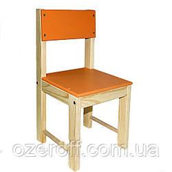 Детский стульчик деревянный ИГРУША 64 см Оранжевый