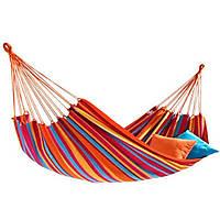 Подвесной гамак для отдыха / Гавайский гамак / Туристический гамак