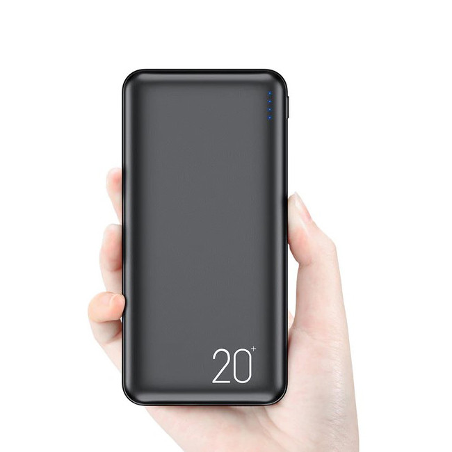 Портативное зарядное устройство Power bank 20000 mAh FLOVEME / Повербанк / Внешний аккумулятор