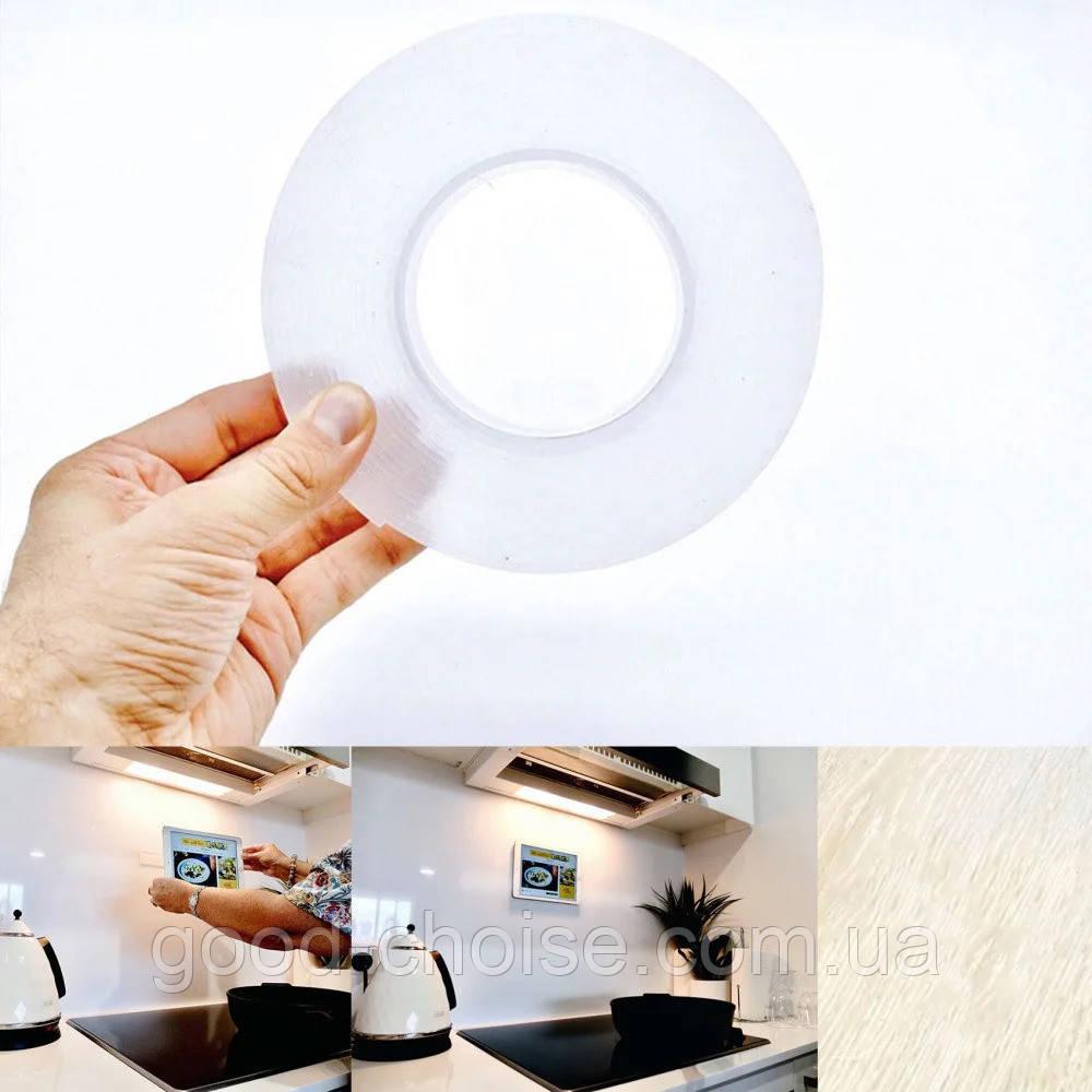 Многоразовая крепежная лента 1 м Ivy Grip Tape / Сверхсильная клейкая гелиевая лента