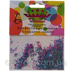 Конфетти для дизайна ногтей Master Professional MP-423-06