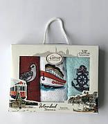 Набор полотенец для кухни Gursan Istanbul Souvenir V1 30*50 см махровые в коробке 3шт