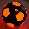 Светящийся в темноте мяч с LED подсветкой / Футбольный лед мяч / Мячи, фото 2