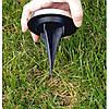 Комплект 4 шт. - уличный садовый светильник на солнечной батарее Solar Disk Lights, фото 6