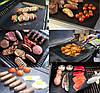 Антипригарный коврик гриль BBQ grill sheet 33*40 см для гриля, барбекю, решетки, фото 6