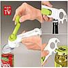 Универсальная открывалка консервный нож 7 в 1 Kitchen CanDo для банок и бутылок, фото 7