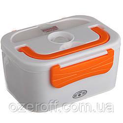 Автомобильный ланч бокс с подогревом Lanch Box (3066YY/ 12v) Оранжевый