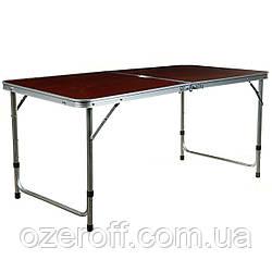 Стол раскладной + 4 стула Folding table (5464) Красный