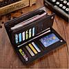 Мужское портмоне + Подарок / Клатч Baellerry Italia / Мужской кошелек (19,5 х 10 х 3 см), фото 8