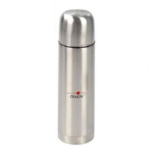 Термос туристический вакуумный с ручкой Stenson 0,75 л (004894)