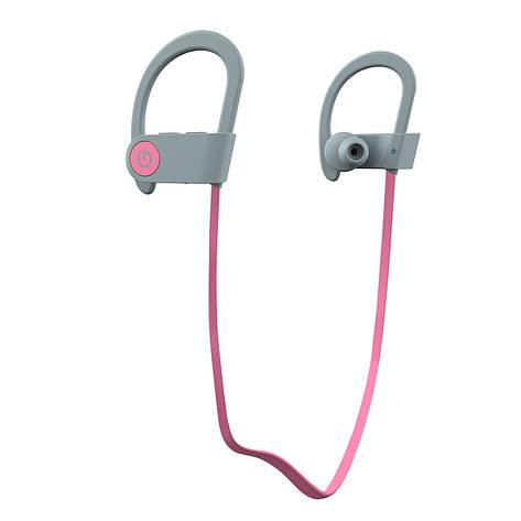Беспроводные наушники Romix S3 Sport Wireless Headphone RWH S3 Pink-Grey, фото 2