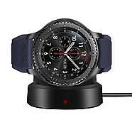 Бездротове зарядний пристрій BeWatch для смарт-годин Samsung Gear S3 Чорний (1027700)