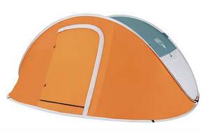 Палатка туристическая четырехместная Bestway 68006 210х240х100 см (006806), фото 2