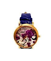 Часы женские CFTY Синие ФС-0032, КОД: 112026