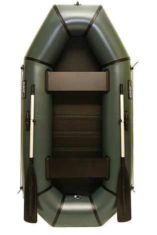 Надувная резиновая лодка Grif boat GH-240LS для рыбалки и охоты на воде (220626), фото 2