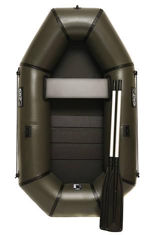 Надувний гумовий човен Grif boat GL-210S для риболовлі та полювання на воді (220603), фото 2