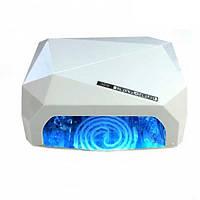 Лампа для маникюра LED+CCFL гибрид 36 Вт Белая 210057, КОД: 1287883