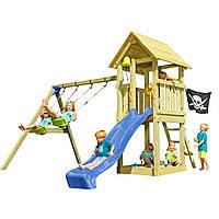 Детская игровая площадка KBT Blue Rabbit KIOSK + SWING Синий, КОД: 1429271
