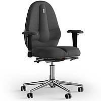Кресло KULIK SYSTEM CLASSIC Ткань без подголовника без строчки Серый 12-909-BS-MC-0506, КОД: 1697016