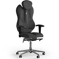 Кресло KULIK SYSTEM GRAND Ткань с подголовником без строчки Черный 4-901-BS-MC-0507, КОД: 1697092
