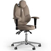 Кресло KULIK SYSTEM TRIO Ткань с подголовником без строчки Карамельный 14-901-BS-MC-0502, КОД: 1668744
