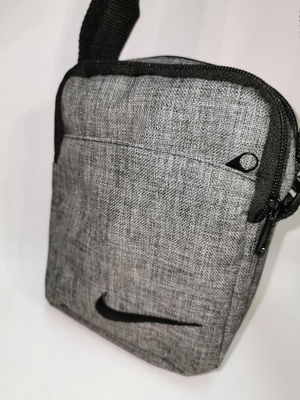 Барсетка nike сумка спортивные мессенджер для через плечо Унисекс ОПТ