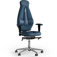 Кресло KULIK SYSTEM GALAXY Антара с подголовником со строчкой Кобальтовый 11-901-WS-MC-0304, КОД: 1689561
