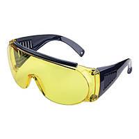Очки стрелковые Allen Fit Over Shooting Glasses. Линзы - поликарбонат (желтые).