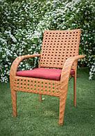 Кресло из ротанга Классик магазин дачной мебели