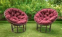 Кресло из ротанга Папасан магазин дачной мебели