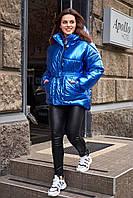 Дутая стеганая куртка с капюшоном (42)