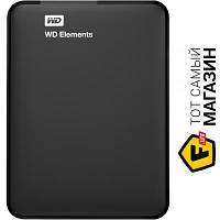 """Western Digital USB 2TB (WDBU6Y0020BBK) Elements, Black 2.5"""" usb 3.0"""