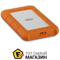 "LaCie USB-C 4TB (STFR4000800) Rugged, Orange 2.5"" USB Type-C"