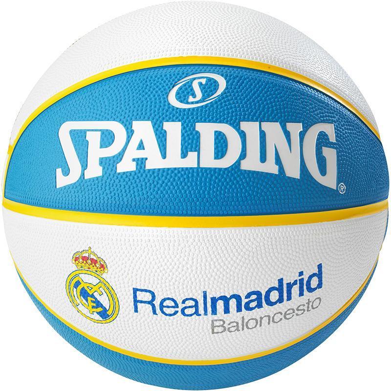 М'яч баскетбольний Spalding EL Team Real Madrid Size 7
