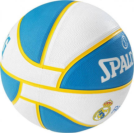 М'яч баскетбольний Spalding EL Team Real Madrid Size 7, фото 2