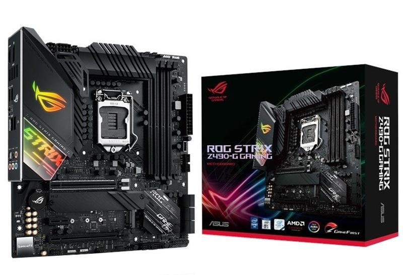 Материнская плата Asus ROG Strix Z490-G Gaming (Wi-Fi) Socket 1200