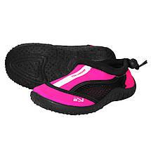 Взуття для пляжу і коралів (аквашузи) SportVida SV-GY0001-R28 Size 28 Black/Pink, фото 3