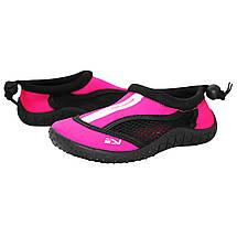 Взуття для пляжу і коралів (аквашузи) SportVida SV-GY0001-R28 Size 28 Black/Pink, фото 2