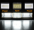 LED балка дополнительного света 216W 22248 Лм, фото 3