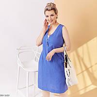 """Платье женское льняное мод: 4092 (50, 52, 54, 56) """"ALISA"""" недорого от прямого поставщика, фото 1"""